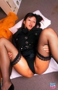 asian office girl